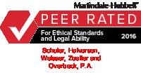 Peer Rated Logo