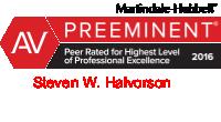 Steven W. Halvorson Award